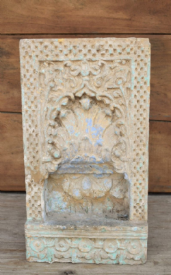19th C. Carved Sandstone Niche, Nagaur <b>sold<b>